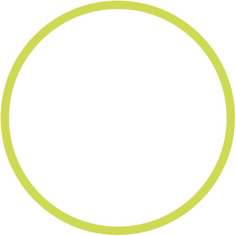 Rhythmic Gymnastics 50 cm Hoop - Green