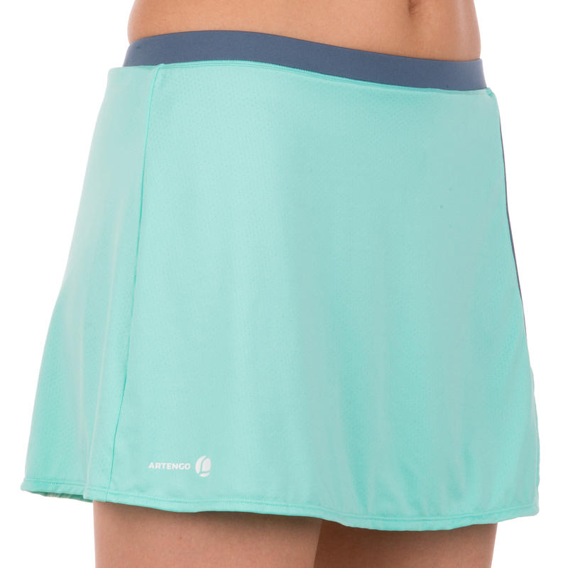 Soft Women's Tennis Badminton Table Tennis Padel Squash Skirt - Green