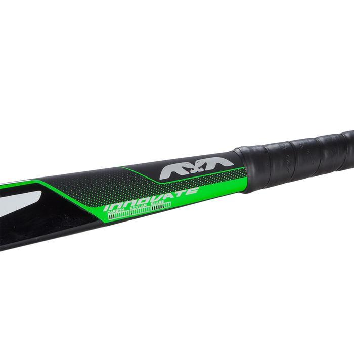 Stick de hockey sur gazon enfant confirmé 20% Carbone Midbow Total2 vert
