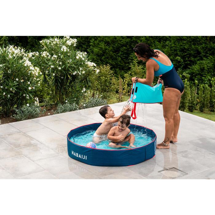 Zwembadje met waterdichte tas TIDIPOOL+ blauw