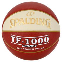 Ballon de basket SPALDING TF 1000 LNB taille 7 pour adulte à partir de 13 ans