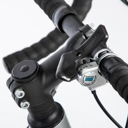 Herenracefiets voor recreatief gebruik RC100 grijs