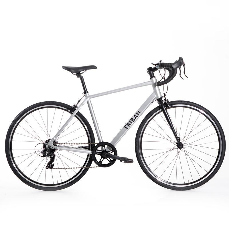 RC 100 Road Bike - Grey