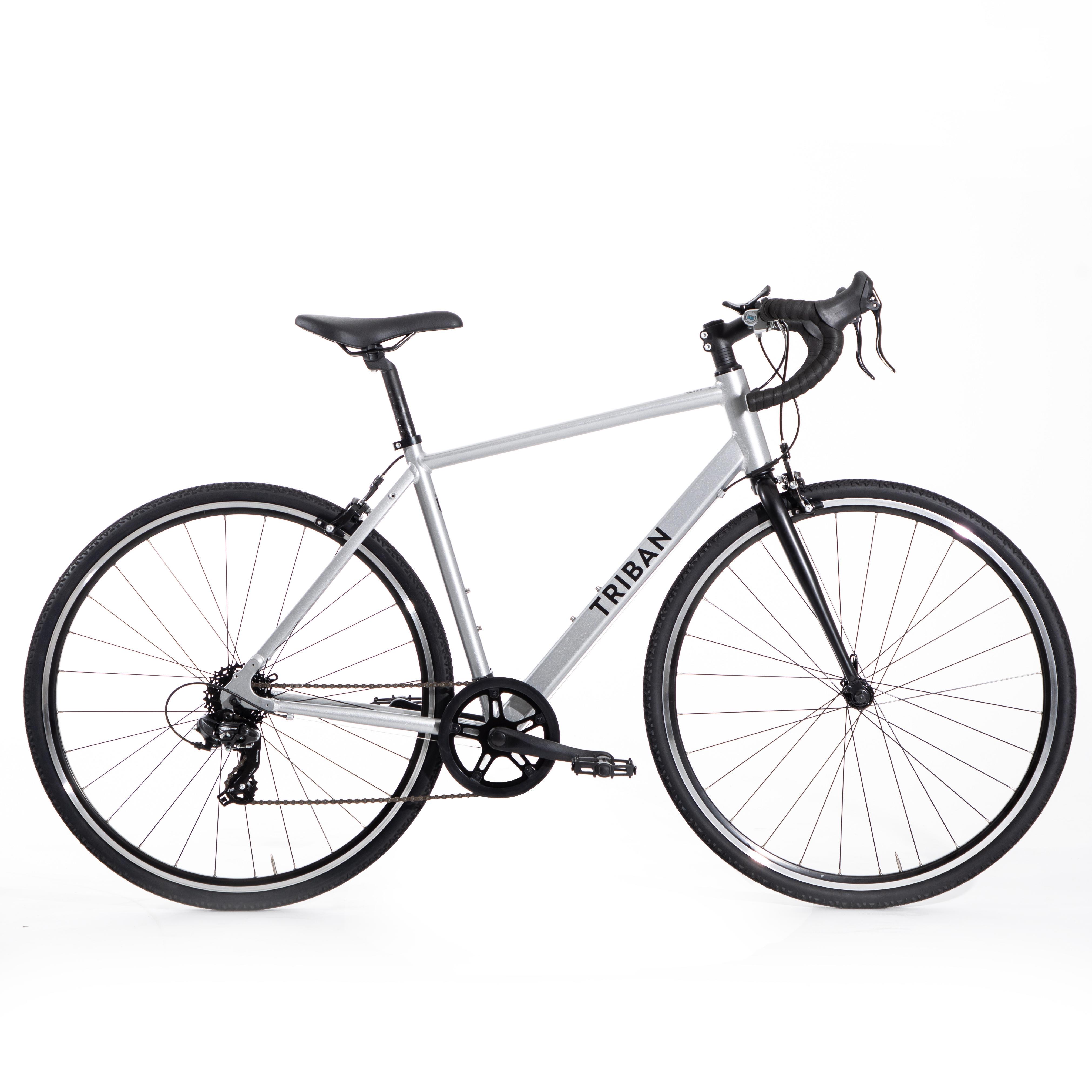 Herenracefiets voor recreatief fietsen RC100 (Of centjes om deze te kopen)