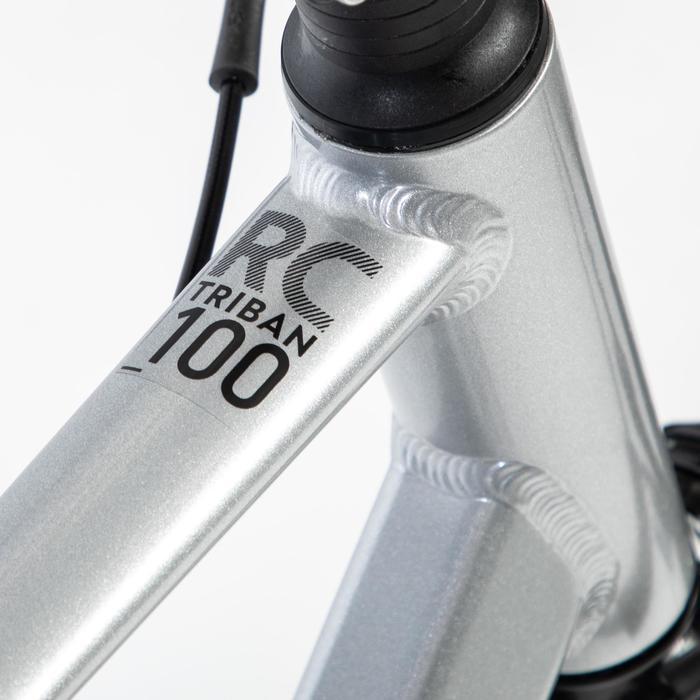 Rennrad TRIBAN RC 100 grau