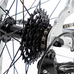 Racefiets / wielrenfiets RC100 shimano tourney grijs