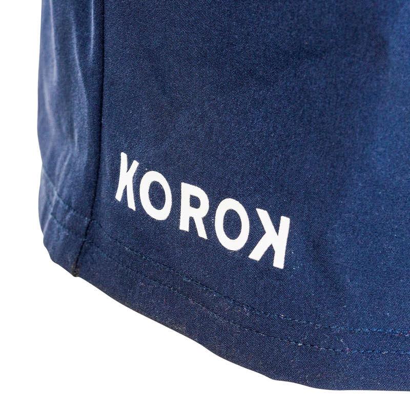 Textile Hochei pe iarbă Baschet, Handbal, Volei, Rugby - Șort FHSH500 bleumarin bărbați KOROK - Hochei pe iarba