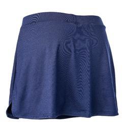 Hockeyrokje voor dames FH500 marineblauw
