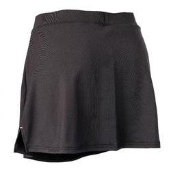 Falda de hockey sobre hierba mujer FH500 negro