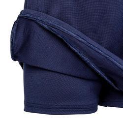 Hockeyrokje voor meisjes FH500 marineblauw