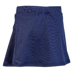 Hockeyrokje voor meisjes FH100 blauw