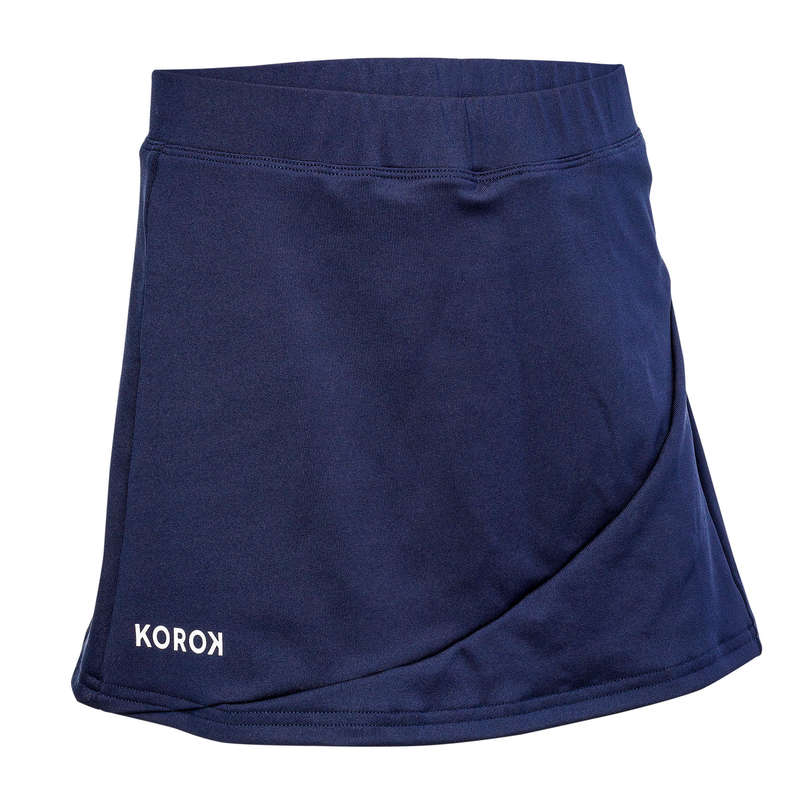 APPAREL FIELDHOCKEY Sport di squadra - Gonna hockey bambina FH500 blu KOROK - Hockey su prato