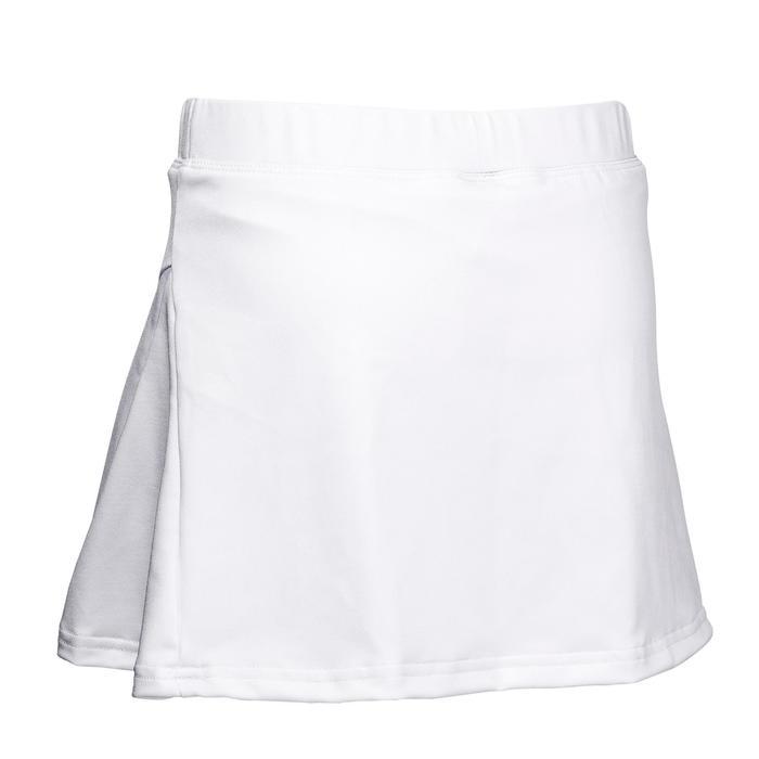 Hockeyrokje voor meisjes FH100 wit