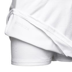 Hockeyrokje voor meisjes FH500 wit