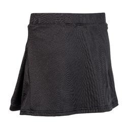 Hockeyrokje voor meisjes FH100 zwart
