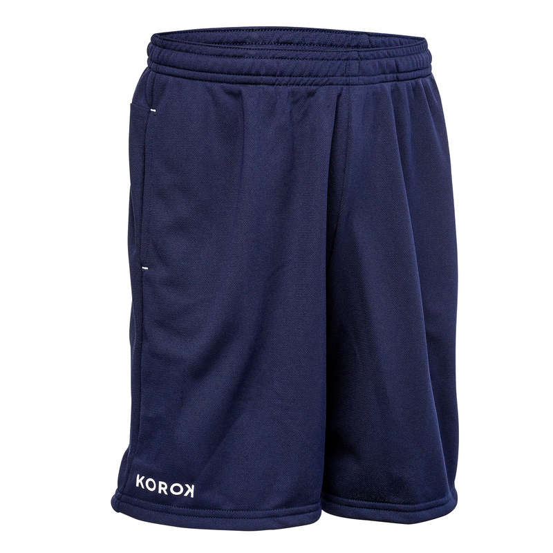 APPAREL FIELDHOCKEY Sport di squadra - Short hockey junior FH100 blu KOROK - Hockey su prato