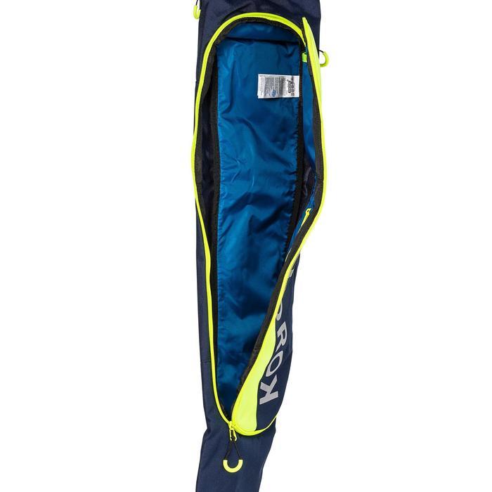 Housse de hockey sur gazon petit volume FH150 bleu et jaune