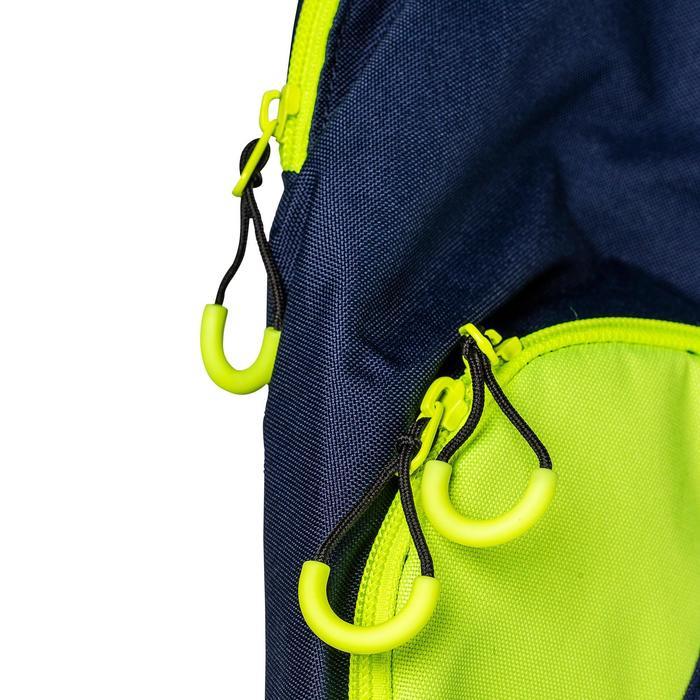 Schlägertasche FH150 Feldhockey klein blau/gelb