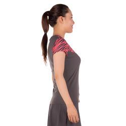 Artengo dames-T-shirt Soft Graph voor tennis, badminton, tafeltennis, padel grn - 173920