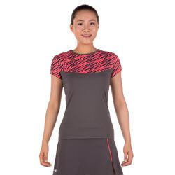 Artengo dames-T-shirt Soft Graph voor tennis, badminton, tafeltennis, padel grn - 173922