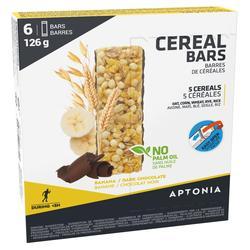 Barrita Cereales Triatlón Aptonia Clak Plátano y Chocolate 6 x 21 g