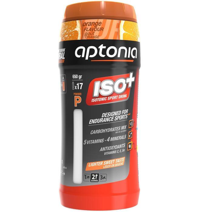 Boisson isotonique poudre ISO+ orange 650g