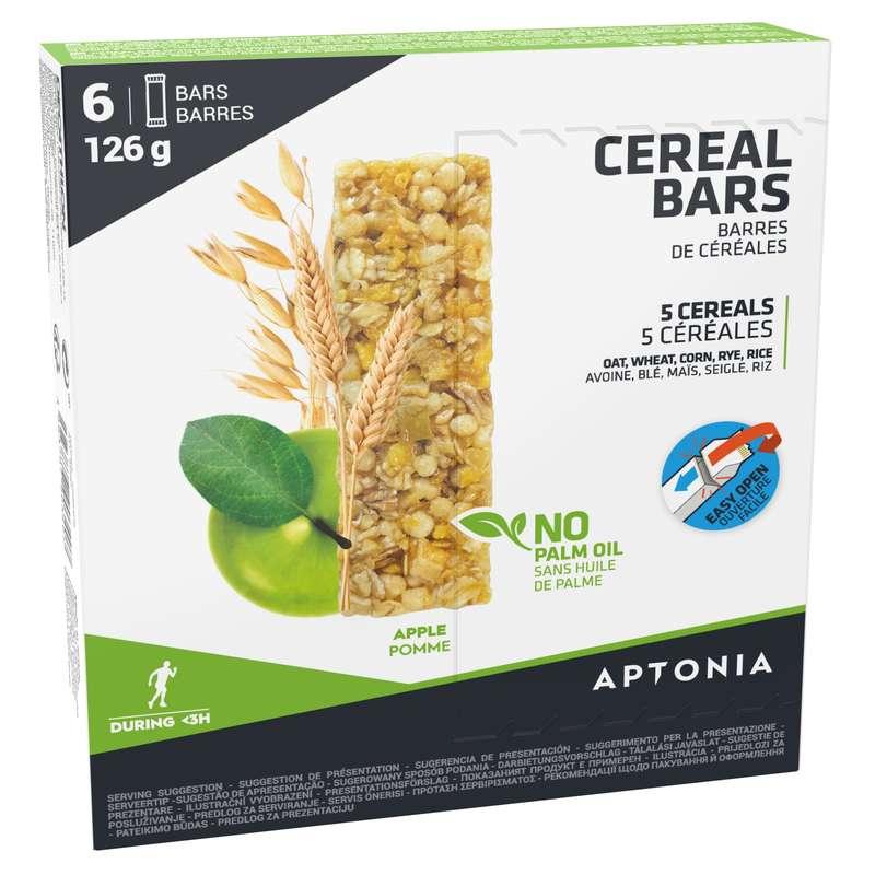 BATOANE, GELURI ȘI RECUPERARE Triatlon - Baton Cereale Măr 6x21g APTONIA - Nutritie - Hidratare