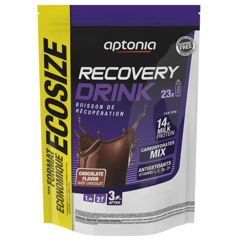 BARS, GELS & AFTER Running - RECOVERY DRINK 1.5 KG CHOC APTONIA - Running