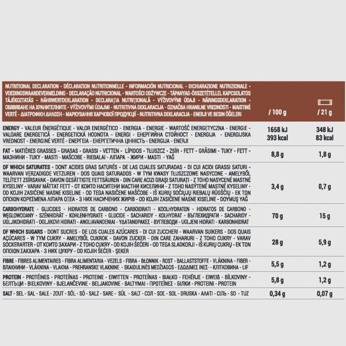 Graanrepen Clak chocolade voordeelpak 10 x 21 g