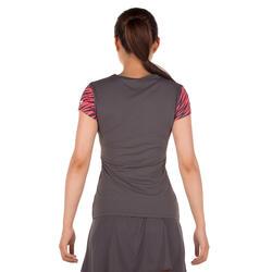 Artengo dames-T-shirt Soft Graph voor tennis, badminton, tafeltennis, padel grn - 173923