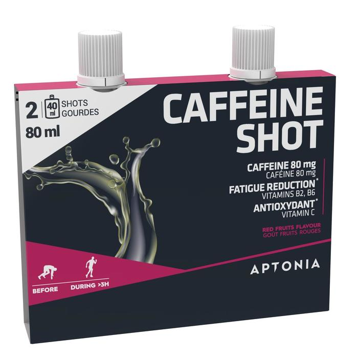 Shot de cafeína Frutos rojos 2 x 40 ml