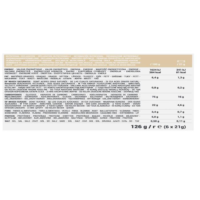 Graanrepen Clak natuur 6 x 21 g