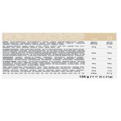 Graanrepen natuur Clak 6x21 g