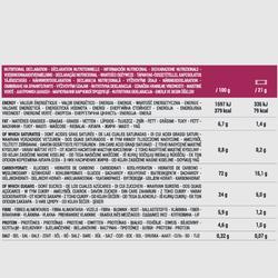 Barre de céréales CLAK aux pépites de fruits rouges ECOSIZE 10 x 21g