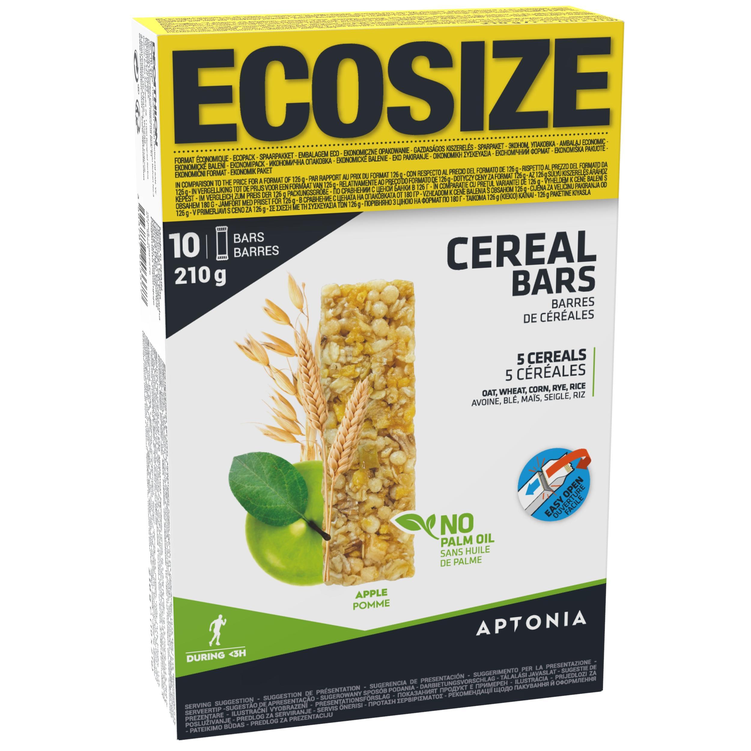Energy-Riegel Müsliriegel Clak Ecosize Apfel 10 נ21 g