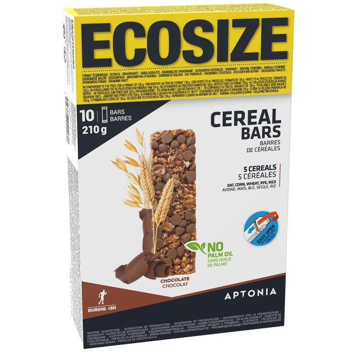 Barre de Céréales CLAK au chocolat ECOSIZE 10 x 21g