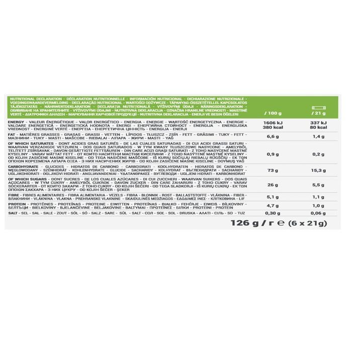 Barre de Céréales CLAK à la Pomme 6 x 21g