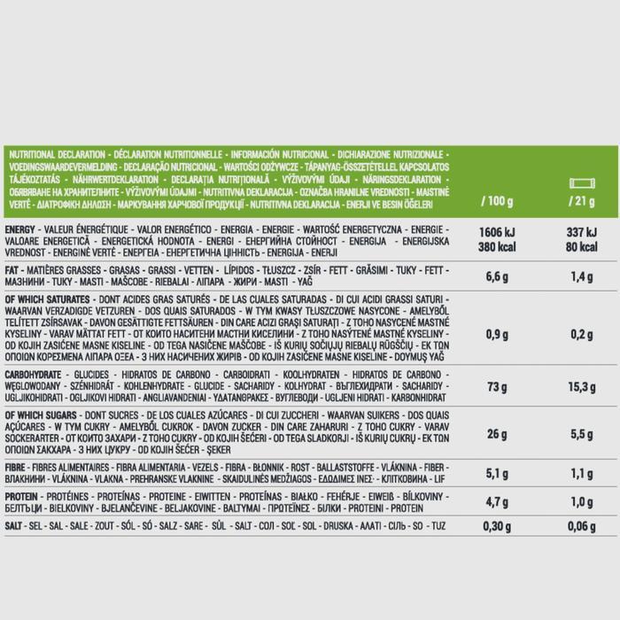 Graanrepen Clak appel voordeelpak10 x 21 g