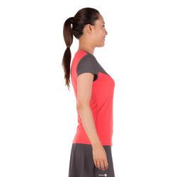 Artengo dames-T-shirt Soft Graph voor tennis, badminton, tafeltennis, padel grn - 173925