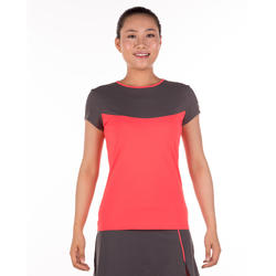 Artengo dames-T-shirt Soft Graph voor tennis, badminton, tafeltennis, padel grn - 173932