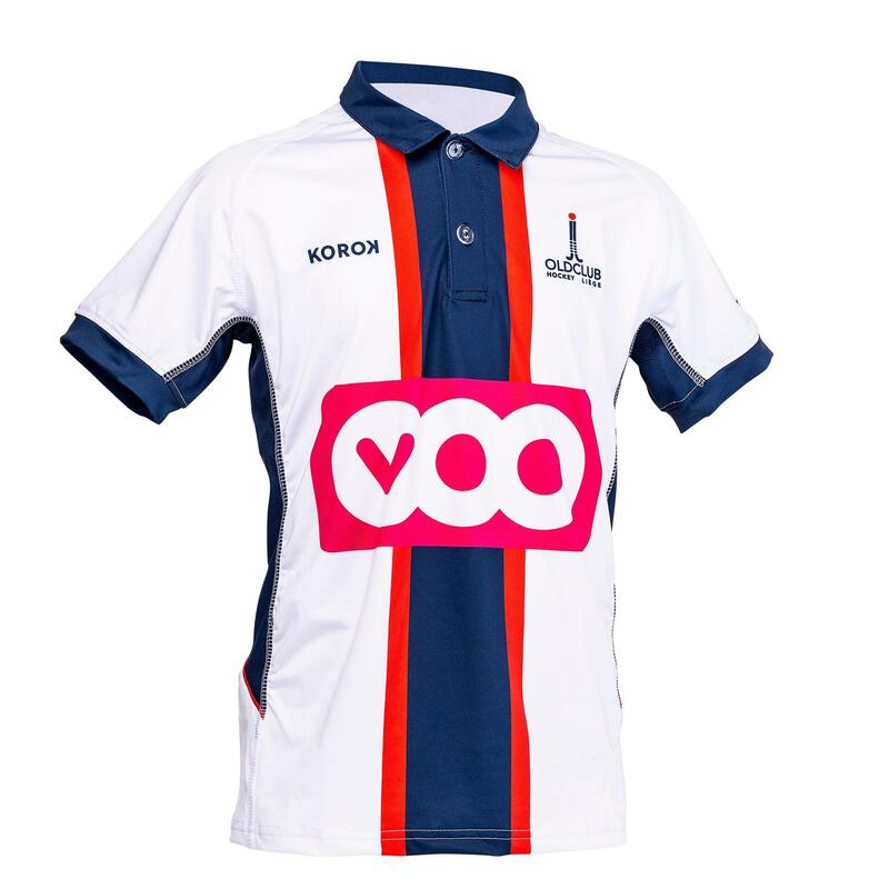 Hockeyshirt voor jongens FH900 Away Old Club