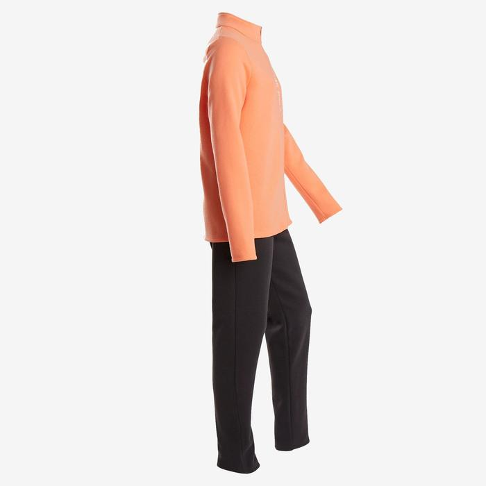 Survêtement Ensemble chaud 100 fille GYM ENFANT corail Warmy Zip