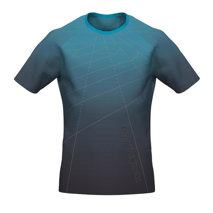 Kids' Athletics Comfort T-shirt AT 300 - faded blue