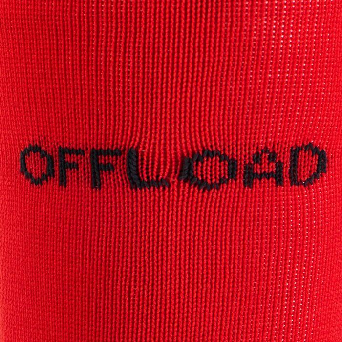 Medias Rugby Offload R500 adulto rojo y negro