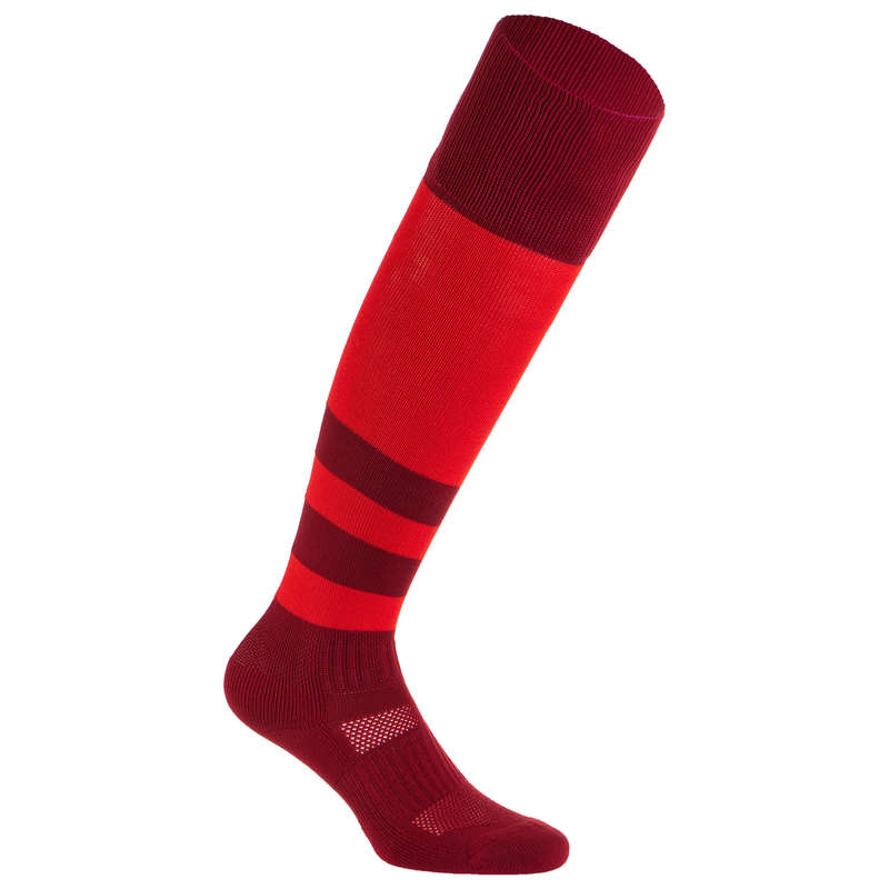 APPAREL RUGBY MEN Rugby - Socks R500 - Red OFFLOAD - Rugby Clothing