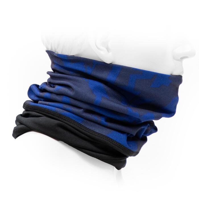 TOUR DE COU 500 BI-MATIERE camo bleu