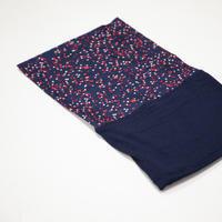 500 Dual-Fabric Neck Warmer - Navy Blue