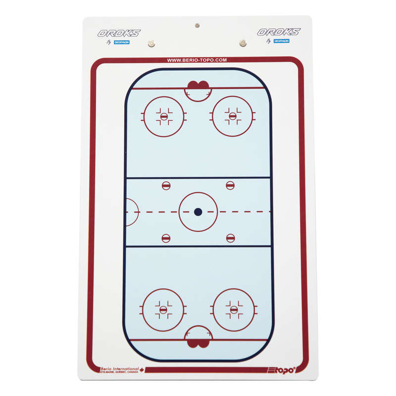 PLAYER AND GAME ACCESSORIES Roller Hockey - Hockey Coaching Board BERIO - Roller Hockey