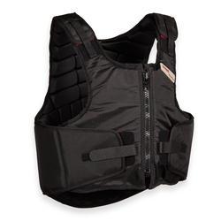 Bodyprotector Smartrider voor kinderen ruitersport zwart