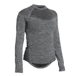 500 Women's Long-Sleeved Cycling Base Layer - Black